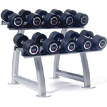Стойка Hammer Strength ESC11Rack Dumbbell Rack with Cups