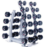 Стойка Hammer Strength ESC5Rack Vertical Oval Dumbbell Rack